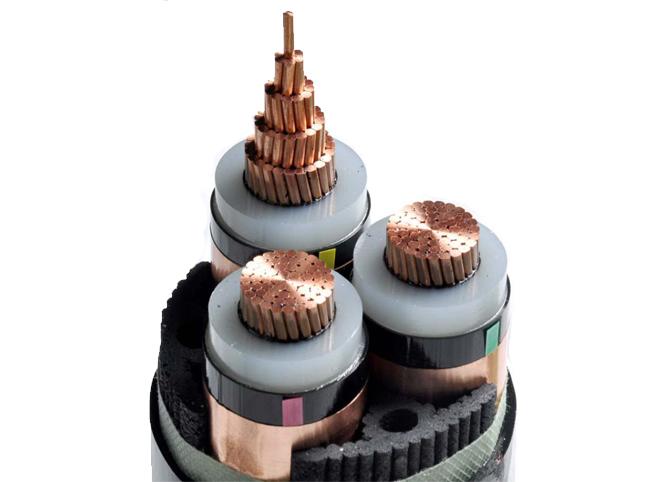 高压交联聚乙烯绝缘聚乙烯护套电力电缆